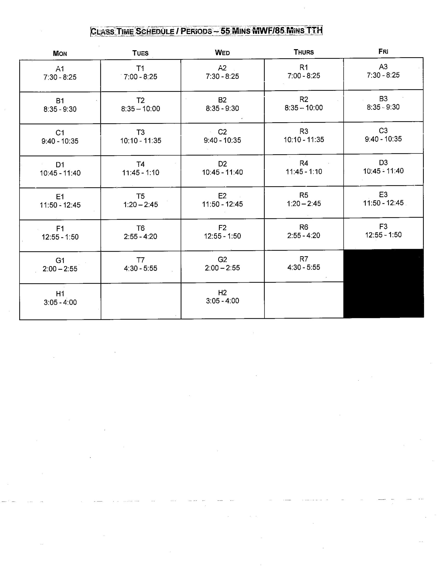 JCJC Class Search